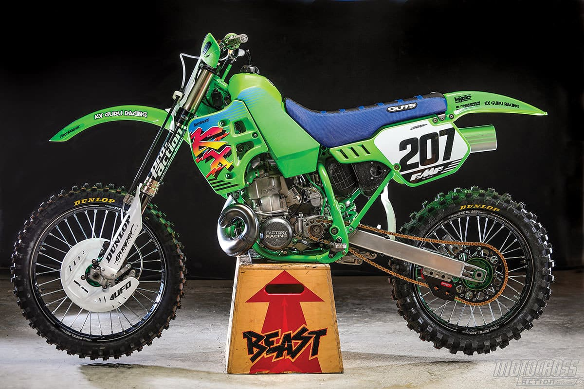 TWO-STROKE TEST: WHAT IT'S LIKE TO RIDE THE KX500 BEAST | Motocross