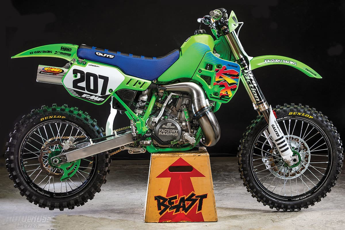 Remarkable Two Stroke Test What Its Like To Ride The Kx500 Beast Creativecarmelina Interior Chair Design Creativecarmelinacom