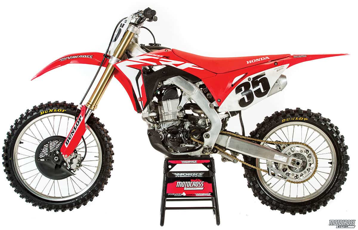 The 2017 Honda CRF450 was built to erase the memory of the 2009 through  2016 CRF450