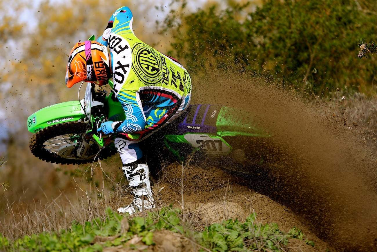 TWO-STROKE TEST: WHAT IT'S LIKE TO RIDE THE KX500 BEAST