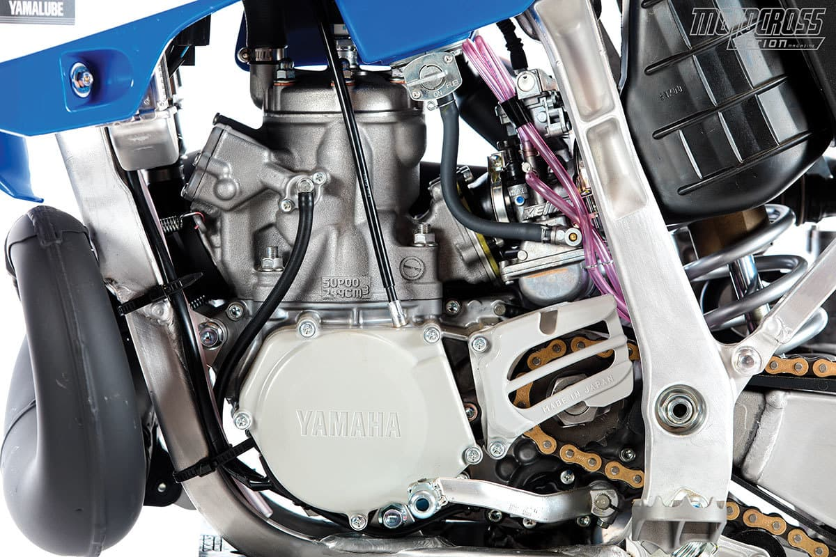 The longer the YZ250 has gone without change, the further it has drifted away from the new bike market.