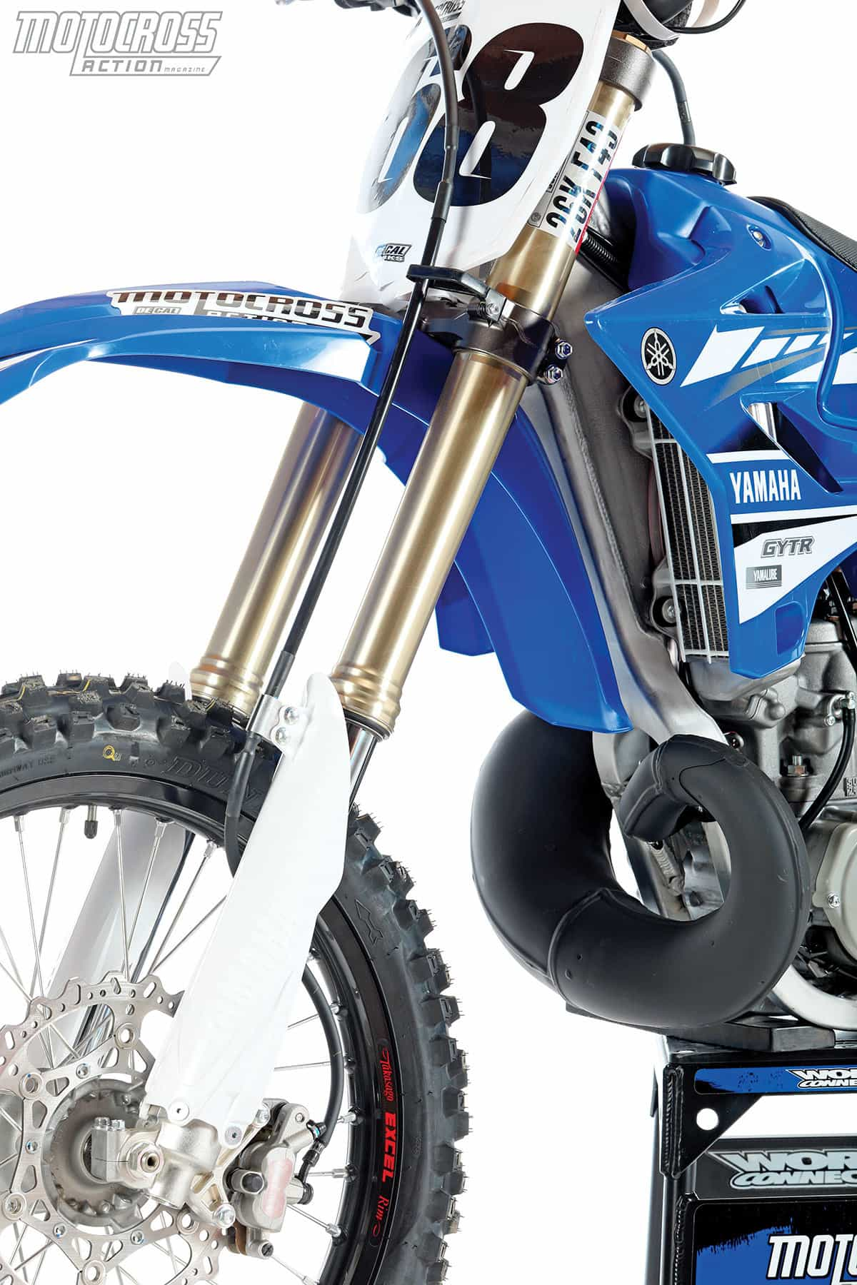 Yamaha needs to update every part on their YZ250, save for the Kayaba SSS spring forks. They still are a step ahead.