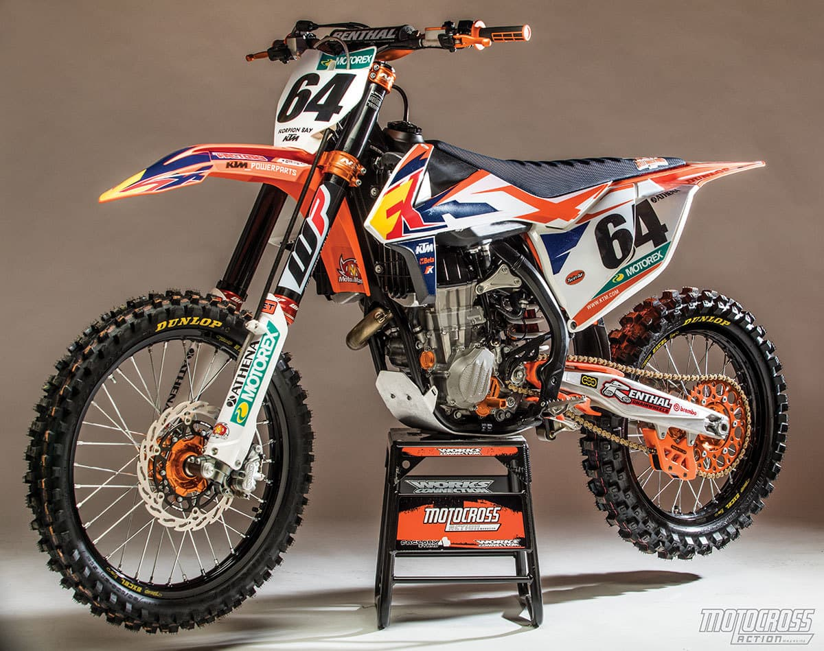 we build the ultimate powerparts ktm 450sxf motocross action magazine. Black Bedroom Furniture Sets. Home Design Ideas