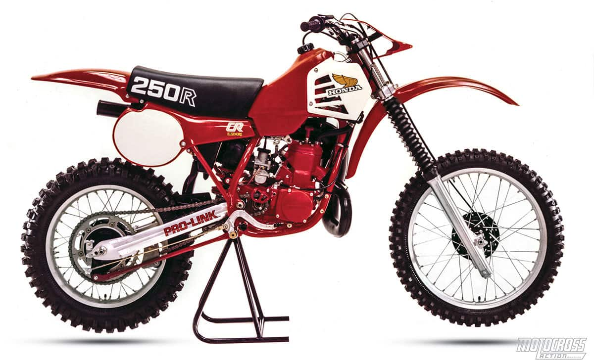 classic motocross iron 1981 honda cr250r motocross. Black Bedroom Furniture Sets. Home Design Ideas