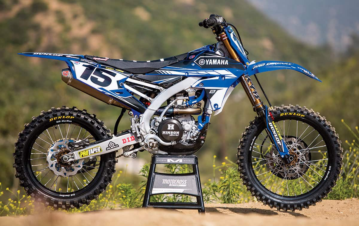 Why Didn T We Build A Chad Reed Or Cooper Webb Yz450f Replica For The Simple Reason That Yamaha Wasn T Going To Give Us Any Works Parts Secret Maps Or