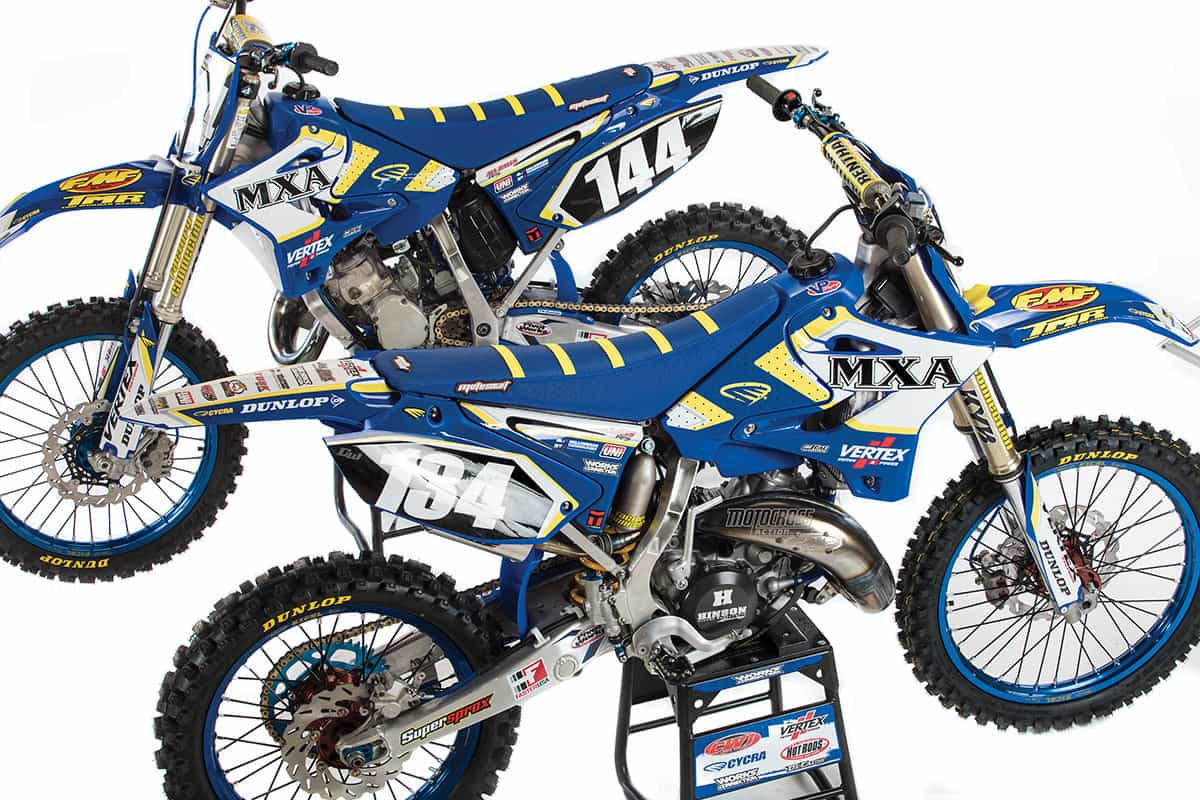 MXA'S YAMAHA YZ134 vs  YZ144 BIG-BORE CHALLENGE | Motocross