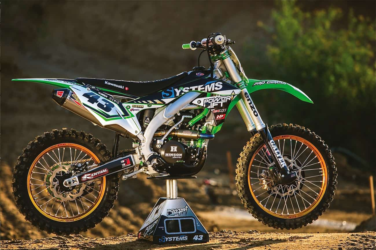 WE RIDE SYSTEMS' 68-HORSEPOWER KAWASAKI KX450F | Motocross Action