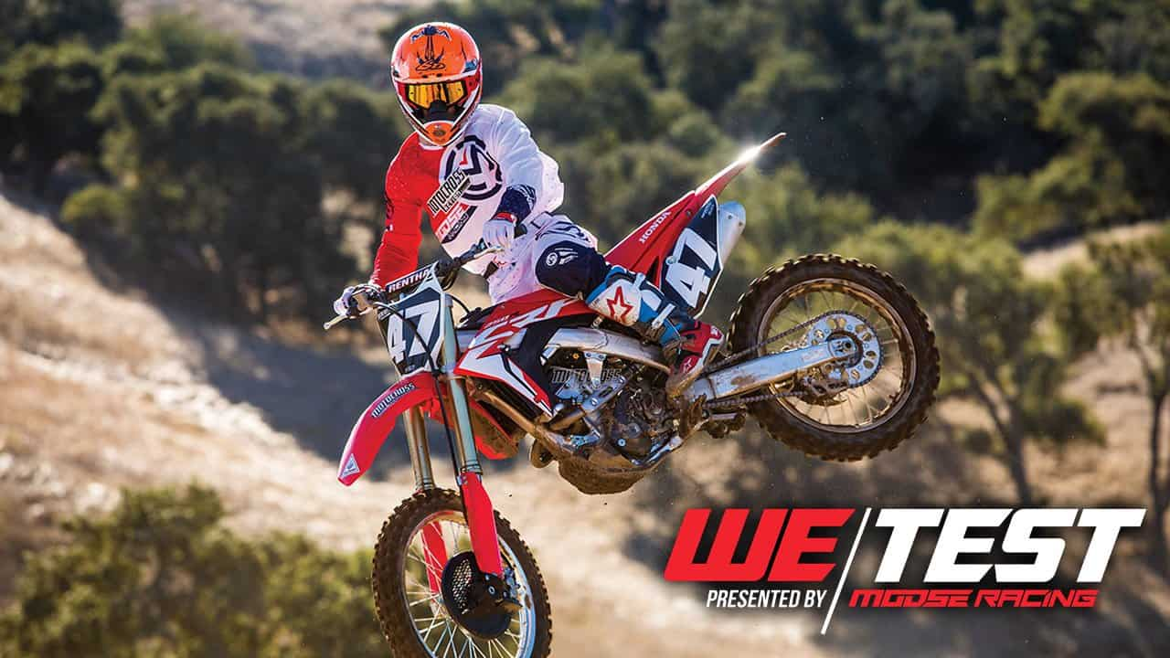 mxa motocross race test 2018 honda crf250 motocross action magazine rh motocrossactionmag com