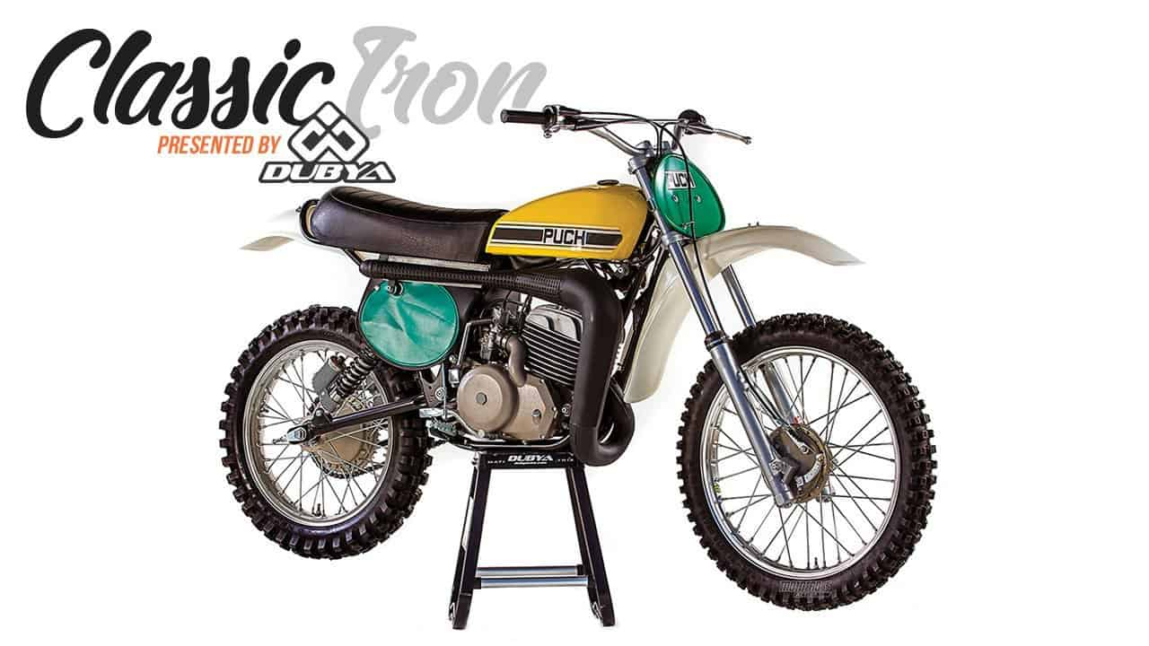 CLASSIC MOTOCROSS IRON: 1976 PUCH MC250 TWIN-CARB HARRY