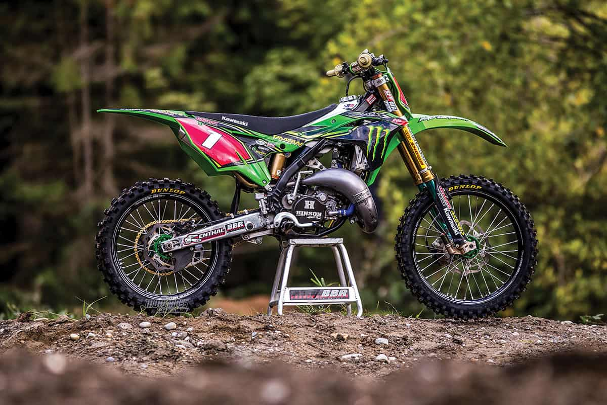 Carson Brown Builds A Trick Kawasaki Kx125 Two Stroke