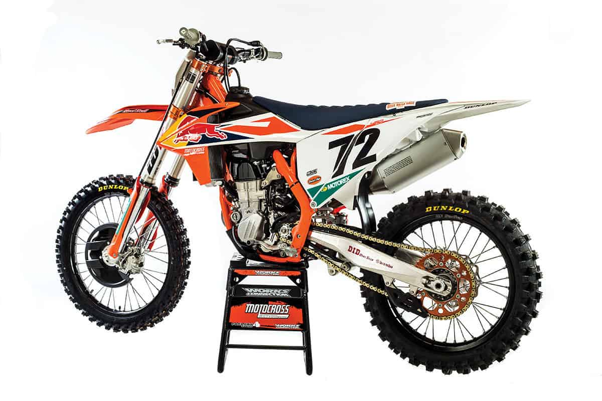 2019 Ktm Sxf >> 2018-1/2 KTM 450SXF FACTORY EDITION|Motocross Action Magazine