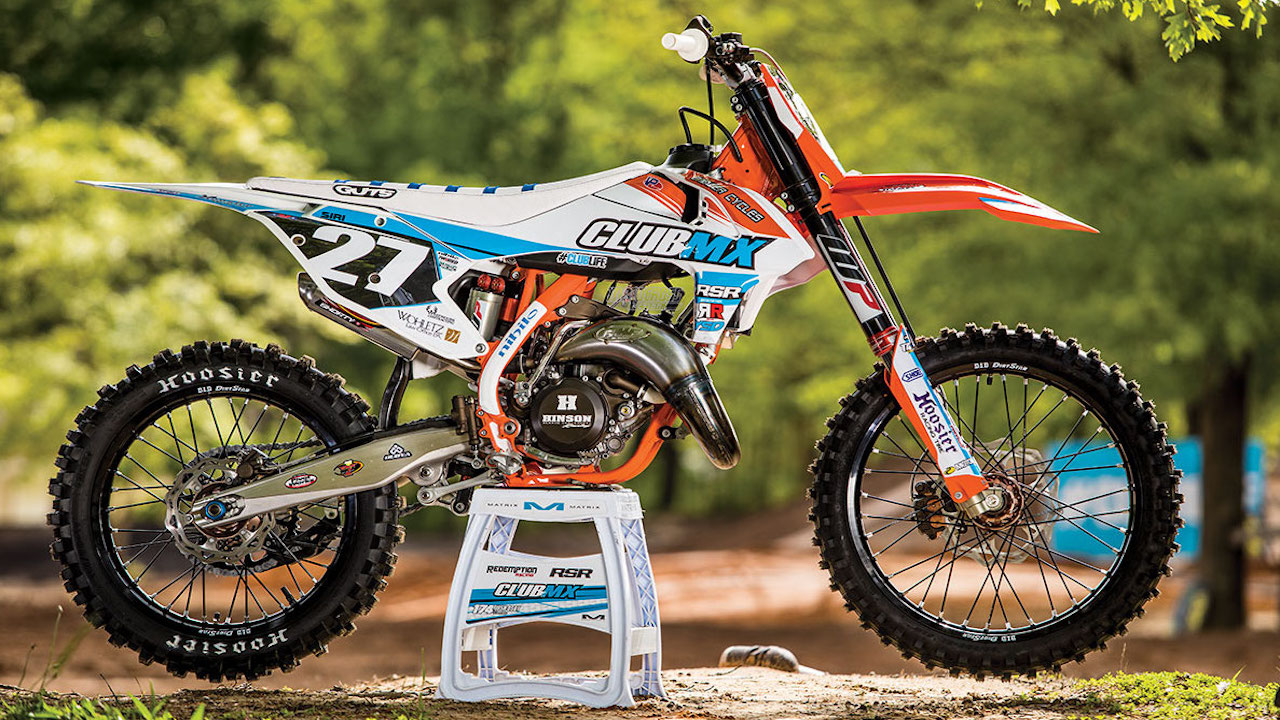 WE RIDE CLUBMX'S SUPERCROSS-READY KTM 150SX TWO-STROKE